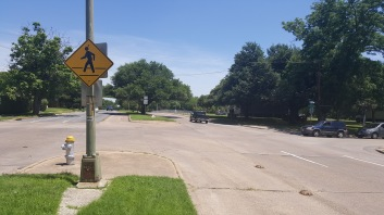 Before New Crosswalk